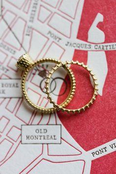 #rings  Photography: Heather Waraksa - heatherwaraksa.com  Read More: http://www.stylemepretty.com/2011/10/13/karen-wises-montreal-nyc-wedding-by-heather-waraksa/
