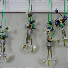 VASO DE FLORES LAMPADA