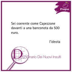 """Dal """"Dizionario dei nuovi insulti"""""""