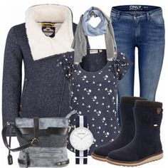 Herbst-Outfits: Violetta bei FrauenOutfits.de
