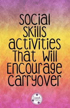 Carryover is a big challenge for every SLP, but did you know that social skills activities can help with and encourage carryover? And they're not too hard to implement! I'm sharing my top three social skills activities that do this inside this blog post, so click through to read them!