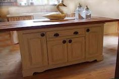 DIY kitchen island from dresser - Google Search