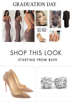 """Graduation"" by vibewitshelly ❤ liked on Polyvore featuring Christian Louboutin"