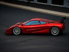 One of the five McLaren F1 LMs just went up for private sale.