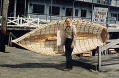 Geodesic Airolite row boat