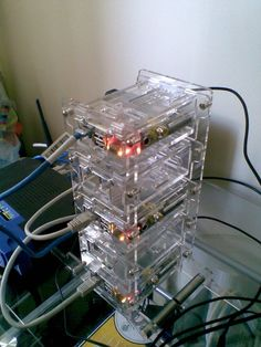 Raspberry Pi Tower by urbanledge.   Check out http://arduinohq.com  for cool new arduino stuff!