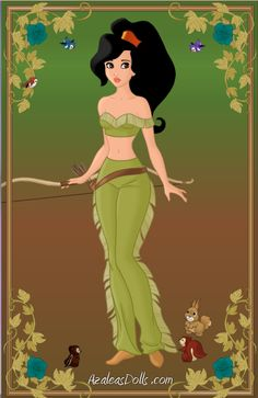 Kaliska, Daughter of Pocahontas & John Rolfe by Disneyfreak3 [©2013]