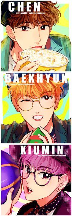 #exo #exo_cbx #chen #baekhyun #xiumin