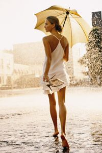 "Clarins 2006 award-winning print ad for France: You, Only Better. Title: ""Ideal Time for Suntan."""