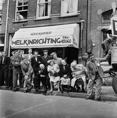 Amsterdam, Lindengracht 1950 foto: Sam Presser