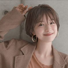 79 short bob hairstyles for the modern woman - Hairstyles Trends Girl Short Hair, Short Hair Cuts, Korean Short Hair Bob, Korean Short Hairstyle, Short Hair Tomboy, Shot Hair Styles, Grunge Hair, Ulzzang Girl, Ulzzang Tomboy