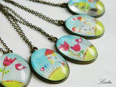 Lintu necklaces  lintu.nakit@gmail.com