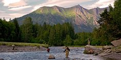 Fishing | The dream of landing a trophy fish lures people from around the globe to Anchorage, where urban angling is just a stone's throw from downtown and remote fly in fishing in the Alaska wilderness is an easy day trip.