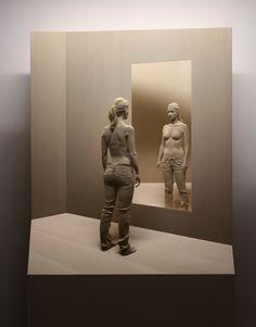 Peter Demetz, 1969 ~ Figurative wood sculptor   Tutt'Art@   Pittura * Scultura * Poesia * Musica  