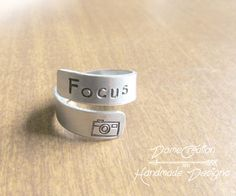 Check out this item in my Etsy shop https://www.etsy.com/listing/524636616/silver-ring-wrap-camera-ring-focus-ring