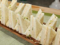 Kimberly's Simply Southern Cucumber Tea Sandwiches