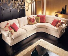 A comfortable and chic sofa!