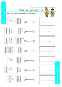Etude des nombres - Les centaines | Exercice ce1, Calcul ce1 et Maths ce1