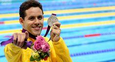 Thiago Pereira, natação, Brasil, Brazil, medalha de prata, olimpíadas