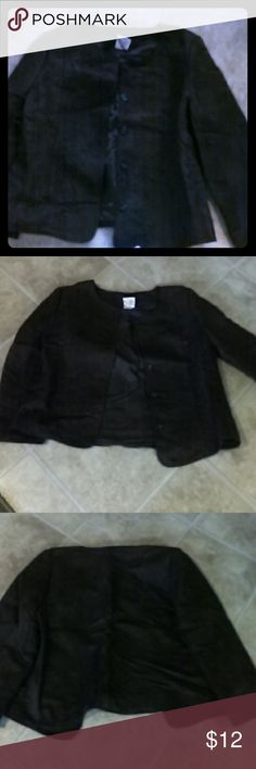 Faux Suede Jacket Excellent condition,come from a smoke free home and no pets, Decorated Originals Jackets & Coats