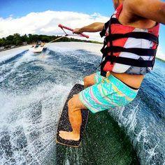 Hopefully everyone had a great Weekend filled with the #MNLakeLife  . : @hunter_bruhn - shreddin' in what looks like a gnarly pair of @chubbies (We could be mistaken)  . #WakeMN #Minnesota #watersports #Summer2016 #wakeboarding #wakesurfing #wakeskating #memorialweekend #Onlyinmn #mnlakelife #ForAllThingsWake #WeAreWakeMN by wake_mn