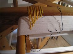 Great idea for counting while winding a warp. From dybvad2009's Flickr photostream