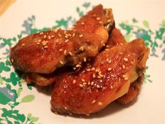Baked Honey Sriracha Wings = 6 points