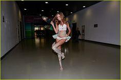 Josephine Skriver at backstage of 11 Global Shopping Festival Gala.