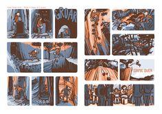 "Skizzenblog: Comic-Collab #049 ""Flucht"" Comics, Comic Book, Cartoons, Comic Books, Graphic Novels"