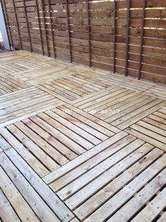 Gorgeous Pallet Wood Floor Agreement You can look at! Find and save ideas about Pallet wood floor on .Find and save ideas about Pallet wood floor on . Pallet Crafts, Diy Pallet Projects, Wood Projects, Pallet Decking, Pallet Fence, Palet Deck, Pallet Wood, Ideas Terraza, Pallet Floors