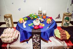 Korean baby first birthday, Korean dol, Korean traditional table setup dol, From the Hip Photography