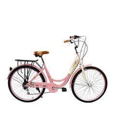 Love this Salmon Pink City Bike on #zulily! #zulilyfinds