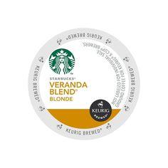 Starbucks K-cups for Keurig Brewers Veranda Blend Blonde, Case of 96 -- See this great image  : K Cups