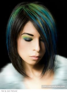Gorgeous Green and Blue Punk Hair http://www.haircutshairstyles.com/gorgeous_green_and_blue_punk_hair-1132.shtml