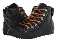 Converse Chuck Taylor® All Star® Thinsulate® Hollis Charcoal Gray - Zappos.com Free Shipping BOTH Ways