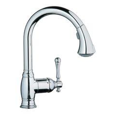 Grohe 33 870 Bridgeford Single Handle Kitchen Faucet - Fixture Universe
