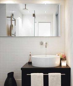 Stockholm Vitt - Interior Design: New bathroom II white Gorgeous Bathroom, Laundry In Bathroom, Condo Living, Bathroom Style, Home, Small Bathroom, Beautiful Bathrooms, Apartment Balcony Decorating, Bathroom Inspiration