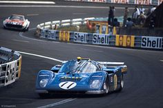 Mark Donohue / David Hobbs - Ferrari 512M - North American Racing Team - XXXIX Grand Prix d´Endurance les 24 Heures du Mans - 1971 International Championship for Makes, round 9 - Challenge Mondial, round 4