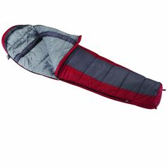 """Wenzel Windy Pass 0 Degree Sleeping Bag. 0° temperature rating. 56oz of non-allergenic Omega II fill, with offset quilt construction to capture warmth. Oversize 33"""" wide by 84"""" long. Polyester outer with soft polyester pongee liner. Full length 3 inch draft tube and 3 inch shoulder collar."""