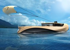 The wind & solar powered Cronos yacht is made almost entirely from bamboo panels!