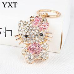 Cute Crystal Charm Key Chain/Ring