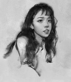 ( ' – ' ) , Yizheng Ke on ArtStation at https://www.artstation.com/artwork/leWXz