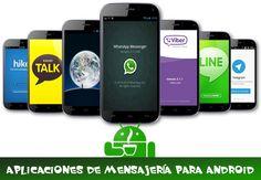 Las 20 mejores aplicaciones de mensajería para Android; aplicaciones para enviar mensajes gratis, compartir fotos, videos y más.