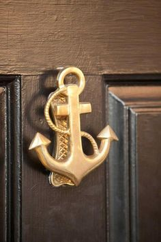 Well, if you have a beach house, you've got to have an anchor knocker! - Cape Cod Collegiate