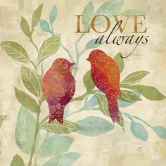 Love Birds Pattern I  Cynthia Coulter