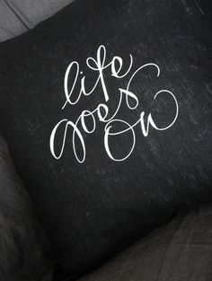 need a cushion like this on my bed for those days than i'm sad and just plop on it to cry, maybe if the cushion was there i'd get the message as i collapse :) haha