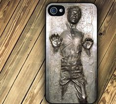 Star Wars Han Solo Frozen in Carbonite iPhone 4 case iPhone case from FineArtDesigns on Etsy. Saved to Phone cases. Coque Iphone, Iphone 4s, Apple Iphone, Objet Star Wars, Han Solo Frozen, Heros Disney, Star Wars Han Solo, Cool Iphone Cases, Marvel