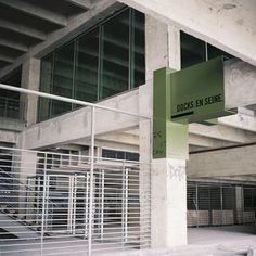 Docks en Seine Signage by Nicolas Vrignaud | Dezeen