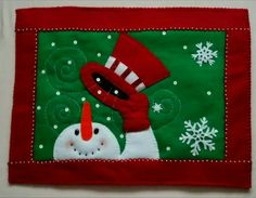 Christmas Mug Rugs, Christmas Placemats, Christmas Sewing, Christmas Crafts For Kids, Christmas Gifts, Christmas Decorations, Xmas, Christmas Ornaments, Christmas 2019