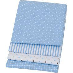 receiving blankets blue